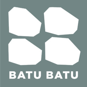 BatuBatu Logo Green Background