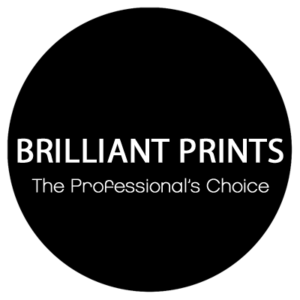 Brilliant prints logo