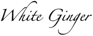white ginger logo