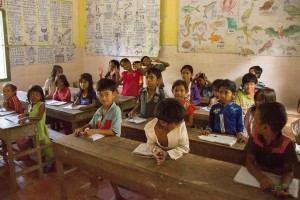 Volunteer opportunities for children in Cambodia to support First Hand charity