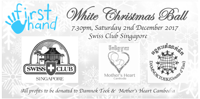 White Christmas Ball raises $21,969 in aid of Damnok Toek and Mother's Heart Cambodia!