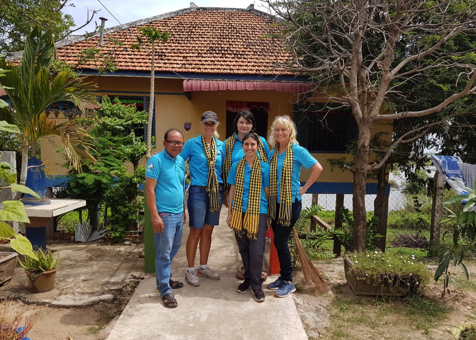 First Hand Service Trip to Mother's Heart and Damnok Toek November 2018